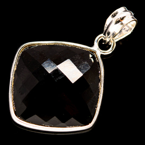 Black Onyx Pendants handcrafted by Ana Silver Co - PD736011