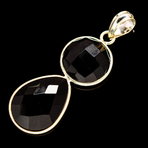 Black Onyx Pendants handcrafted by Ana Silver Co - PD736019