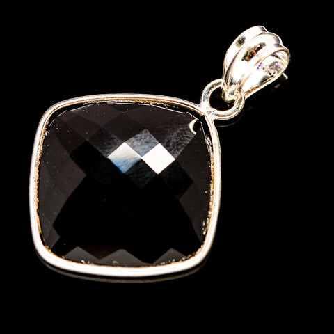Black Onyx Pendants handcrafted by Ana Silver Co - PD736034