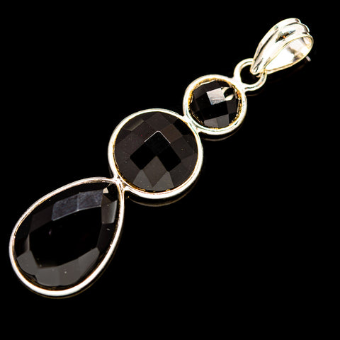 Black Onyx Pendants handcrafted by Ana Silver Co - PD736059