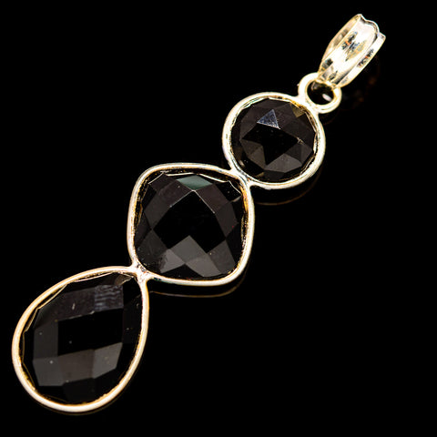 Black Onyx Pendants handcrafted by Ana Silver Co - PD736060