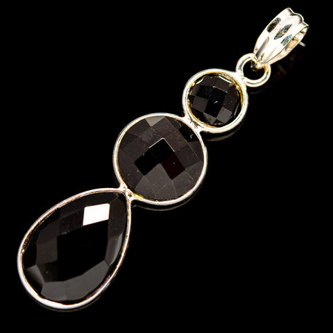 Black Onyx Pendants handcrafted by Ana Silver Co - PD736061