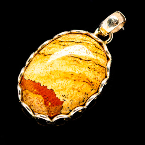 Picture Jasper Pendants handcrafted by Ana Silver Co - PD736262