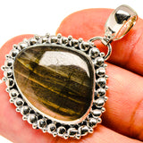 Labradorite Pendants handcrafted by Ana Silver Co - PD736982