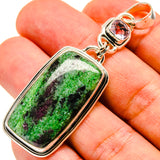 Ruby Zoisite Pendants handcrafted by Ana Silver Co - PD737515