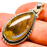Labradorite Pendants handcrafted by Ana Silver Co - PD737742