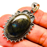 Labradorite Pendants handcrafted by Ana Silver Co - PD738332