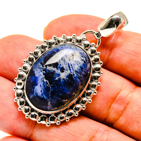 Sodalite Pendants handcrafted by Ana Silver Co - PD738435