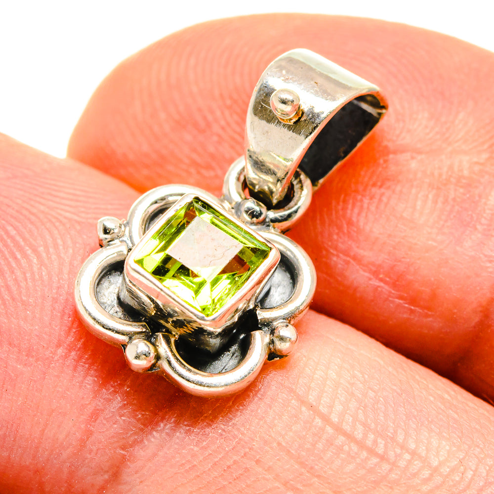Peridot Pendants handcrafted by Ana Silver Co - PD738882
