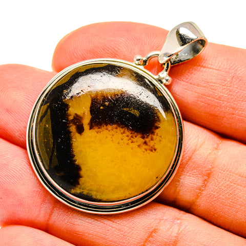 Septarian Nodule Pendants handcrafted by Ana Silver Co - PD738961
