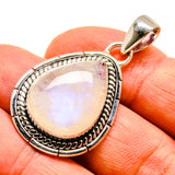 Rainbow Moonstone Pendants handcrafted by Ana Silver Co - PD739177