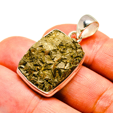 Pyrite Pendants handcrafted by Ana Silver Co - PD739605