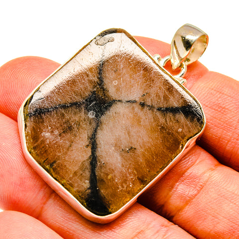 Chiastolite Pendants handcrafted by Ana Silver Co - PD739617