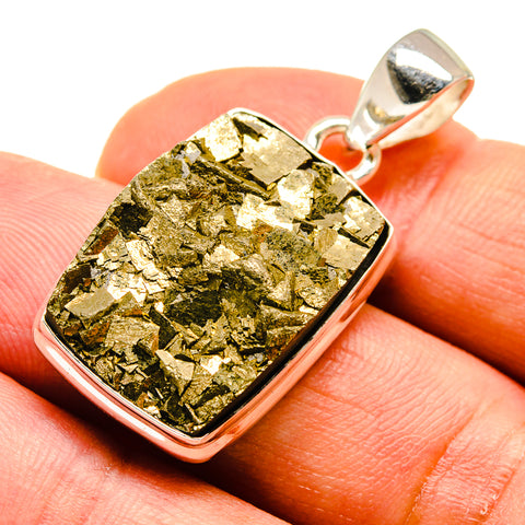 Pyrite Pendants handcrafted by Ana Silver Co - PD739837
