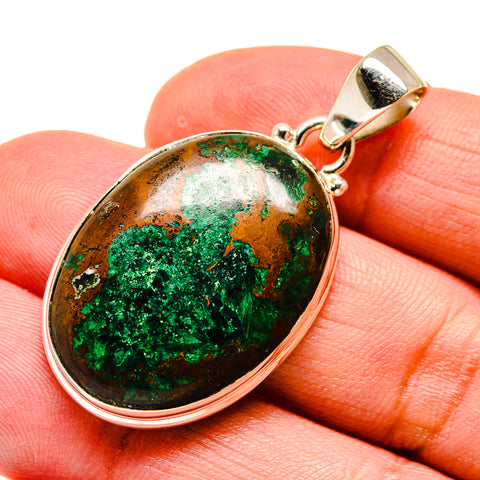 Chrysocolla Pendants handcrafted by Ana Silver Co - PD740558