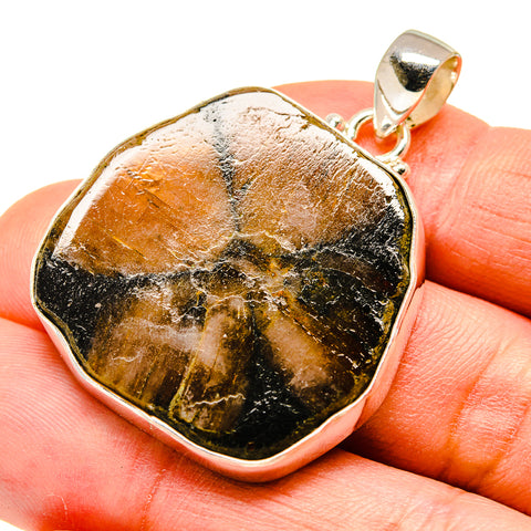 Chiastolite Pendants handcrafted by Ana Silver Co - PD740766
