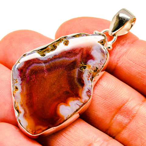 Agate Slice Pendants handcrafted by Ana Silver Co - PD741280