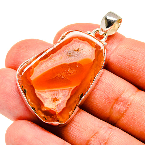 Agate Slice Pendants handcrafted by Ana Silver Co - PD741446