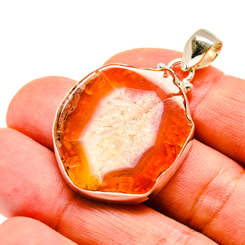Agate Slice Pendants handcrafted by Ana Silver Co - PD741456