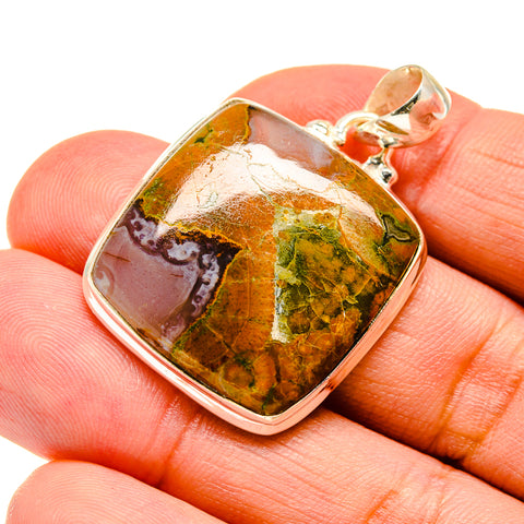 Rainforest Opal Pendants handcrafted by Ana Silver Co - PD741808