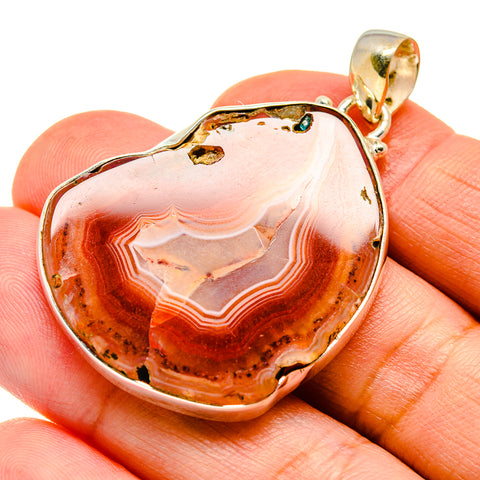 Agate Slice Pendants handcrafted by Ana Silver Co - PD741822