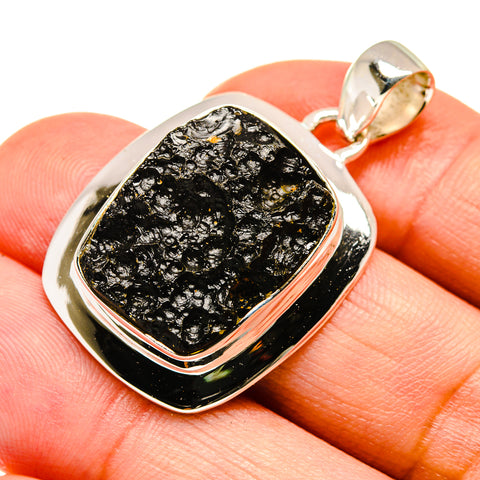 Tektite Pendants handcrafted by Ana Silver Co - PD741852