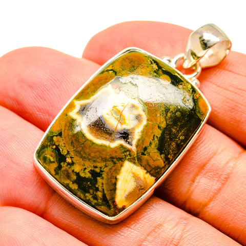 Rainforest Opal Pendants handcrafted by Ana Silver Co - PD741919