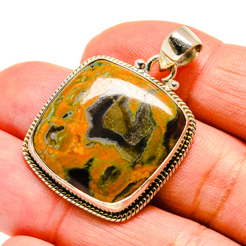 Rainforest Opal Pendants handcrafted by Ana Silver Co - PD741990
