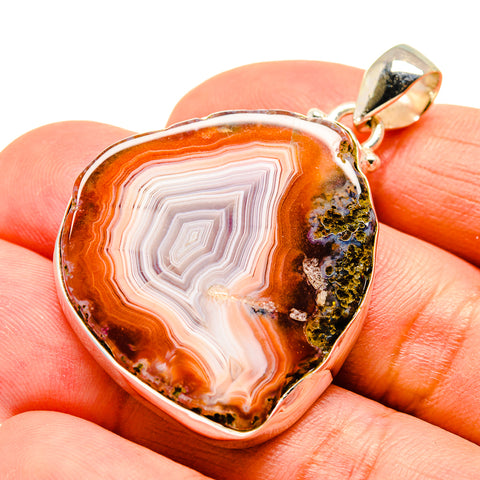 Agate Slice Pendants handcrafted by Ana Silver Co - PD742044
