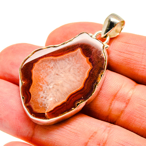 Agate Slice Pendants handcrafted by Ana Silver Co - PD742054