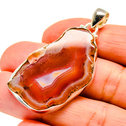Agate Slice Pendants handcrafted by Ana Silver Co - PD742097