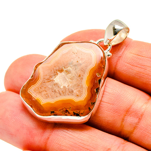 Agate Slice Pendants handcrafted by Ana Silver Co - PD742107