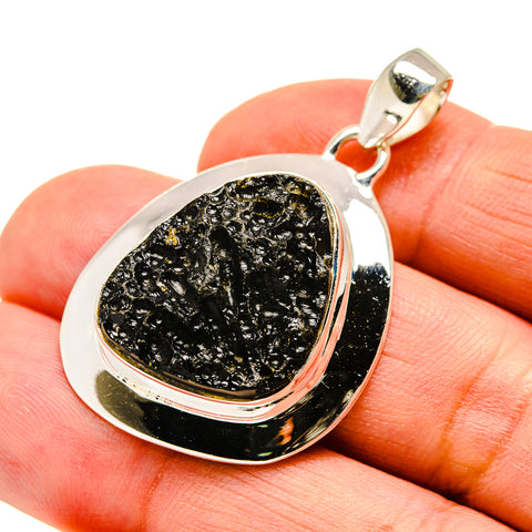 Tektite Pendants handcrafted by Ana Silver Co - PD742110