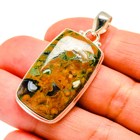 Rainforest Opal Pendants handcrafted by Ana Silver Co - PD742153