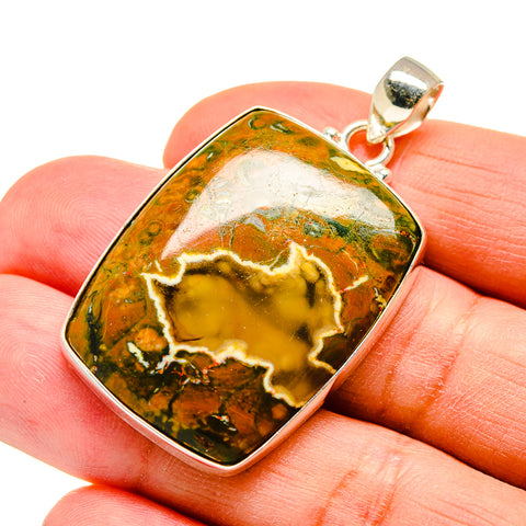 Rainforest Opal Pendants handcrafted by Ana Silver Co - PD742201