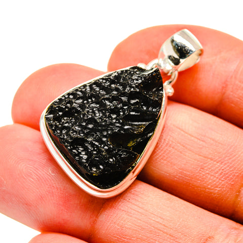 Tektite Pendants handcrafted by Ana Silver Co - PD742264