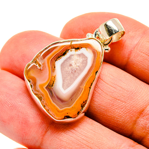 Agate Slice Pendants handcrafted by Ana Silver Co - PD742315