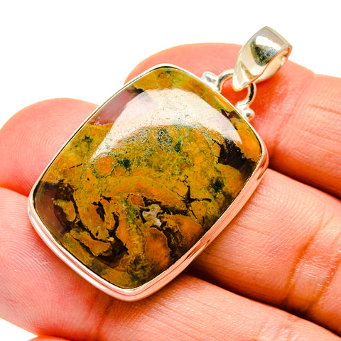 Rainforest Opal Pendants handcrafted by Ana Silver Co - PD742455