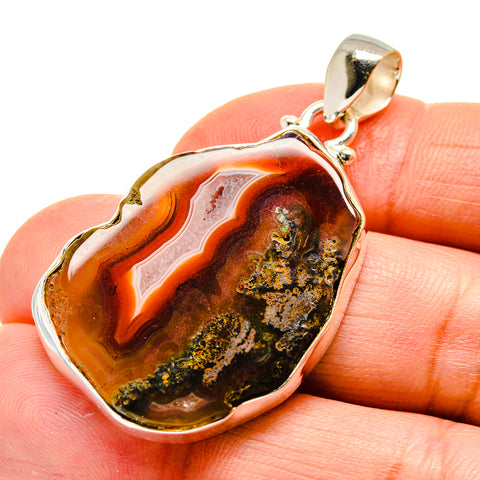 Agate Slice Pendants handcrafted by Ana Silver Co - PD742491