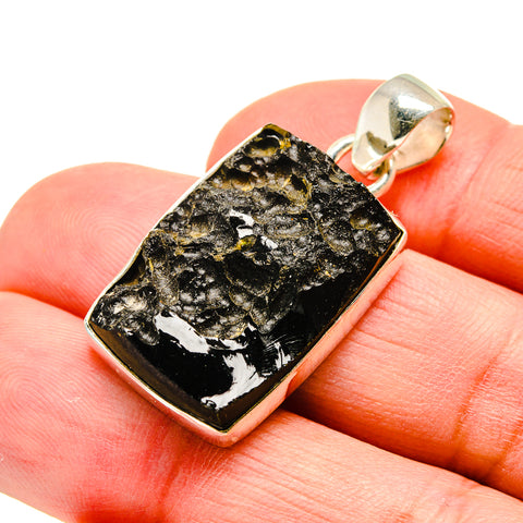 Tektite Pendants handcrafted by Ana Silver Co - PD742517