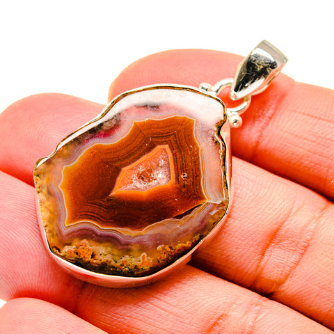 Agate Slice Pendants handcrafted by Ana Silver Co - PD742666