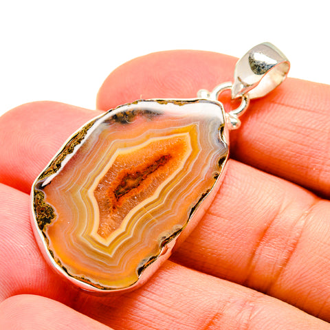 Agate Slice Pendants handcrafted by Ana Silver Co - PD742672