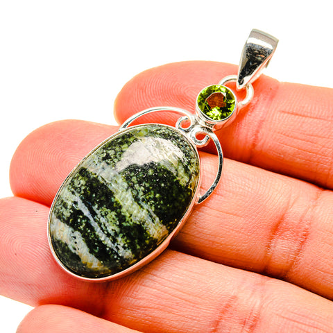 Lizard Jasper Pendants handcrafted by Ana Silver Co - PD744228