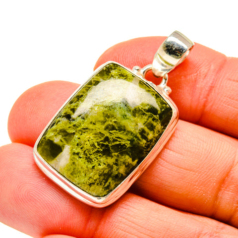Rainforest Opal Pendants handcrafted by Ana Silver Co - PD745009