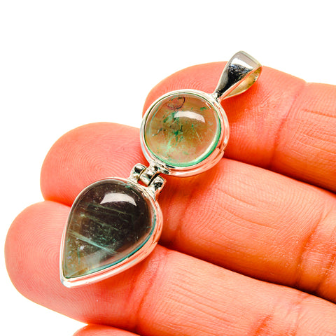 Green Fluorite Pendants handcrafted by Ana Silver Co - PD745036