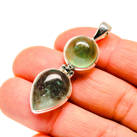 Green Fluorite Pendants handcrafted by Ana Silver Co - PD745189