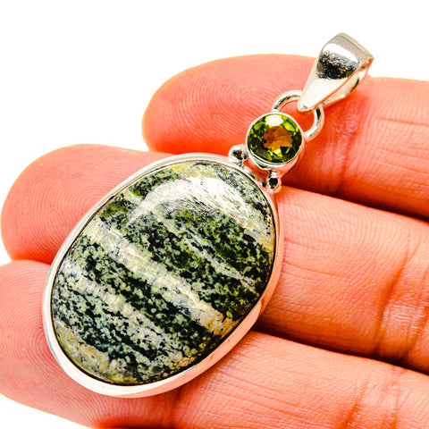 Lizard Jasper Pendants handcrafted by Ana Silver Co - PD745759