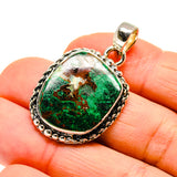 Chrysocolla Pendants handcrafted by Ana Silver Co - PD745991