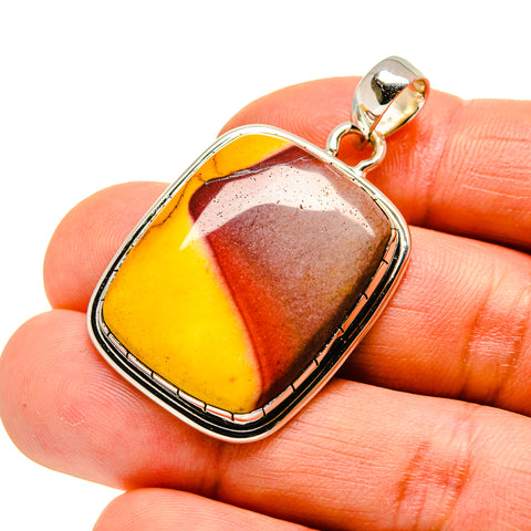 Mookaite Pendants handcrafted by Ana Silver Co - PD746511