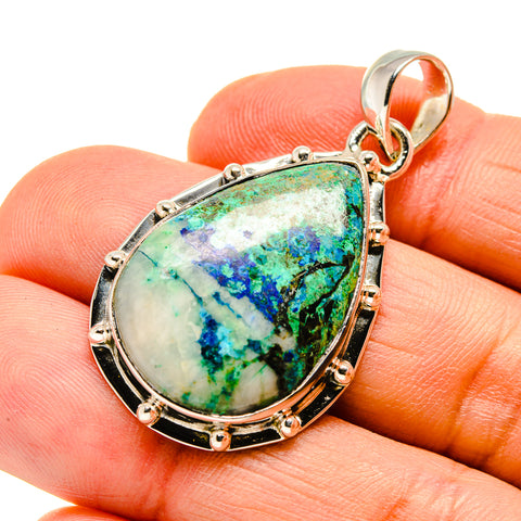 Azurite Pendants handcrafted by Ana Silver Co - PD746739